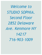 Welcome to STUDIO SOPHIA.